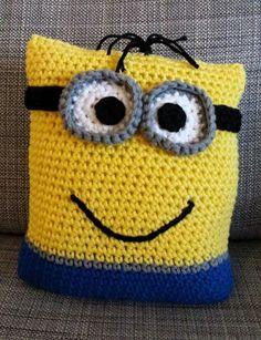 Crochet Keychain Pattern, Crochet Pillow Pattern, Crochet Amigurumi Free Patterns, Crochet Cushions, Crochet Yarn, Crochet Gifts, Knit Pillow, Irish Crochet, Boho Throw Pillows