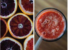 blood orange immunity smoothie // gratitude and greens // #vegan #raw #plantbased #recipe