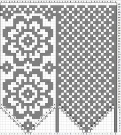 knitting charts Ideas Knitting Gloves Pattern Link For 2019 Knitted Mittens Pattern, Poncho Knitting Patterns, Knit Mittens, Knitting Charts, Knitted Gloves, Knitting Stitches, Knitting Quotes, Fair Isle Pattern, Tapestry Crochet