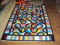 Roads Quilt by anndr