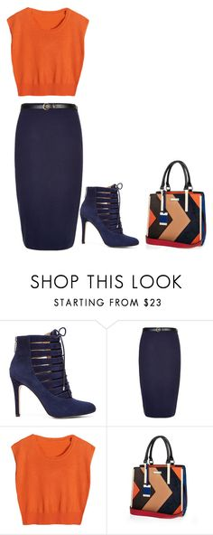 A fashion look from December 2015 featuring orange shirt, midi skirt and heeled ankle boots. Browse and shop related looks. Bcbgeneration, Blue Orange, River Island, Street Style, Shoe Bag, Polyvore, Stuff To Buy, Shopping, Collection