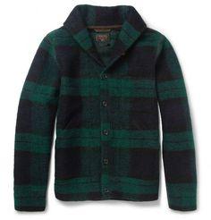 Beams Plus Plaid Wool-Blend Jacket | MR PORTER