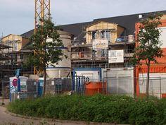 Schwarzenbek, Neubauten am Ernst - Barlach - Platz