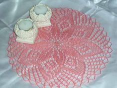 Duge i Kunststrik 1 Filet Crochet, Doilies, Decorative Bowls, Free Pattern, Coasters, Napkins, Knitting, Tablecloths, Home Decor