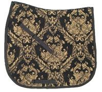 Beautiful Baroque Brocade Dressage Saddle Pads $39.95. Many colors to choose from. To order go to www.equestrianhomeaccessories.com/