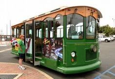 Hop on the Downtown-Harbor Trolley! Wed-Sun 11am-11pm www.venturatrolley.com www.ventura-usa.com