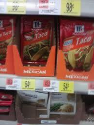McCormick Seasoning 54¢+