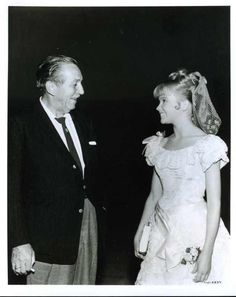 Walt Disney and Hayley Mills. I loved Hayley Mills so much when I was a little girl.