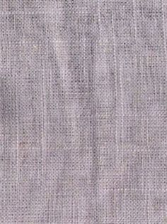 Jefferson Linen 19 Smokey Quartz Linen Fabric - Bridal Fabric by the Yard