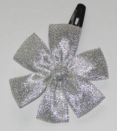Silver hairclip Hair Clips, Silver, Handmade, Accessories, Fashion, Hair Rods, Moda, Money, Fasion