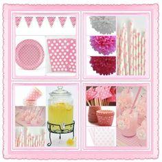 Pink Polka Dot Party Board! Love it!