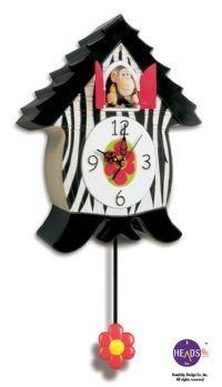 Cuckoo Kingdom, Inc - OranguCoo Coo Clock, Novelty Cuckoo Clock Model