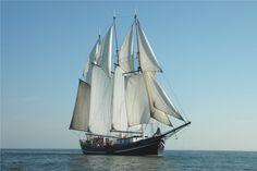 Topzeilschoener schip Vrijheid