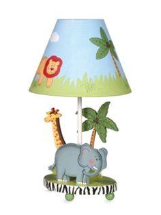 Safari Table Lamp from Kids' Corner: Beanbags, Desks & More on Gilt