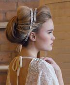 Alex Headband | Kirsten Kuehn || handmade crystal bridal sashes & embellished accessories