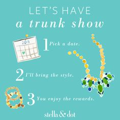 Have your girlfriends over for some wine & get FREE Jewelry! It's that easy!! Contact me for details!  https://www.facebook.com/StellaDotTianna