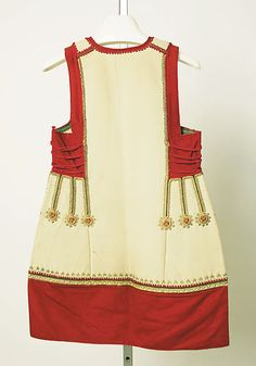 Greece, Jacket, cotton, silk, 19th century