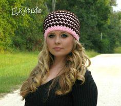 #Crochet hat free pattern from @ElkStudio_