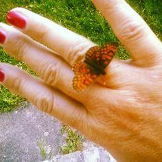 Gyűrűkollekcióm legújabb darabja                  ketcica készítette ezt a képet. Crochet Earrings, Blog, Blogging