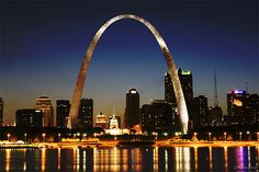 St. Louis -I saw this once and it was quite impressive.