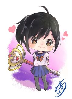 Cute Ayano and Magic Wand Ver Normal by eisjon