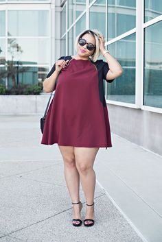 #slimmingbodyshapers Great!! Plus size fashion styles / beauty Bbw big beautiful woman with confidence. Curves swag confidence and attitude slimmingbodyshapers.com