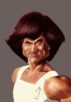 Jackie Chan by bogdancovaciu on deviantART