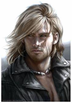 **Ramsey Olaru** Character: Master Warrior & Sentinel (vampire) (Blood Curse Series by Tessa Dawn) (art source: Omupied deviantart, Thorn)