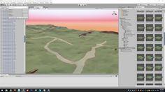 Low Poly Landscape - Modular Terrain Workflow Unity Tutorials, Low Poly, Landscape, Design, Scenery, Corner Landscaping