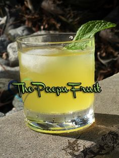 The Paopu Fruit cocktail.  A cocktail inspired by Kingdom Hearts from The Drunken Moogle.