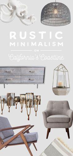Rustic Minimalism on California's Coastline | dotandbo.com