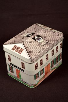 Burpee Seedhouse Building Tin England Seed House Collection