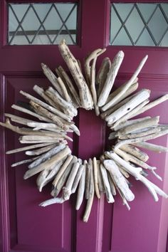driftwood wreath!  Doing this!