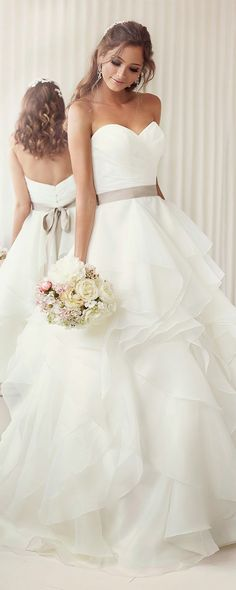 simple soft sweetheart wedding dresses ideas for 2017
