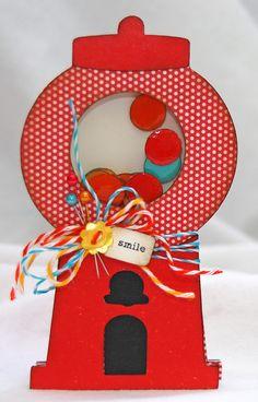 bubble gum card