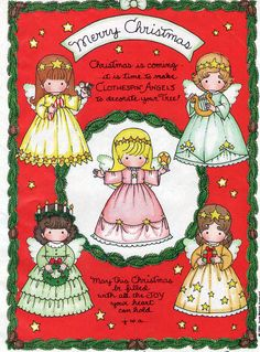 inkspired musings: Some Holiday Paperdoll Joy