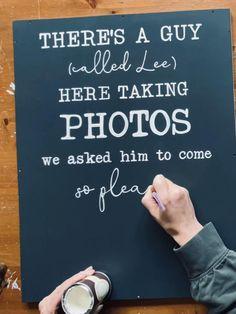 Wood Wedding Signs, Rustic Wood Signs, Rustic Wedding, Wedding Day, Painted Signs, Hand Painted, Unplugged Wedding Sign, Country Barn Weddings, Guest Book Alternatives