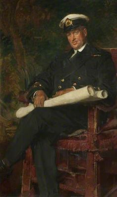 Lieutenant Commander Percy Thompson Dean, one of the heroes of the Zeebrugge Raid. Awarded the Victoria Cross for picking up survivors under murderous fire.