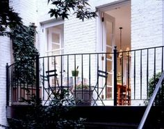 Balcony design is very important for the look of the house. There are so many beautiful ideas for balcony design. Here are 19 of the best balcony design Small Balcony Design, Tiny Balcony, Iron Balcony, Balcony Railing, Modern Balcony, Juliet Balcony, Small Balconies, Balcony Ideas, Greenwich Village