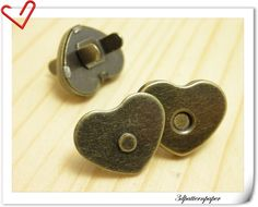 Just wondering would these effect mobile phones etc???  20 Sets 22mm antique brass heart shape Magnetic by 3Dpatternpaper, $9.00