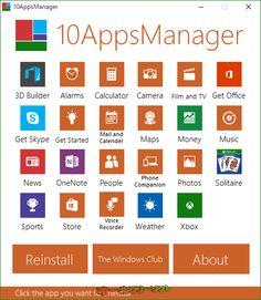 10AppsManager 1.0   10AppsManager--起動時の画面--オールフリーソフト