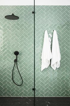 Bathroom renovations 155655730859741091 - Three Birds Renovations – House 9 – Main Bathroom – Tile Inspo Source by kaitmadden Zen Bathroom, Family Bathroom, Bathroom Interior, Small Bathroom, Bathroom Ideas, Tile Bathrooms, Bathroom Fixtures, Green Bathroom Tiles, Green Bathrooms