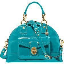 Blue Coach Purse