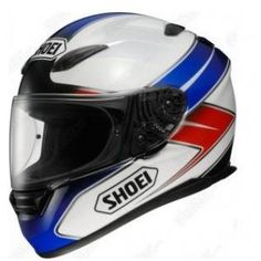 Shoei XR1100 Enigma White Red Blue