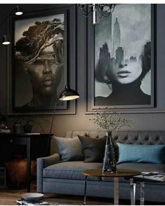 Moody interiors / art