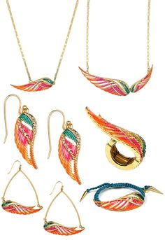 Rachel Roy angel wing jewelry collection from Macys.com - Perfect for Pi Phi Angels #piphi #pibetaphi