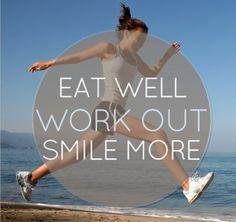 Eat well...,