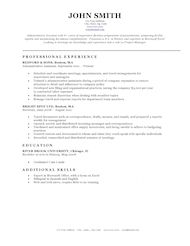 resume template bw classic - Margins For Resume