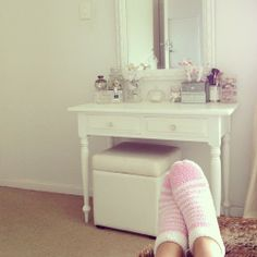 Cute dressing table.