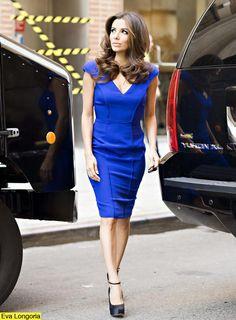 blue dress victoria beckham - Szukaj w Google